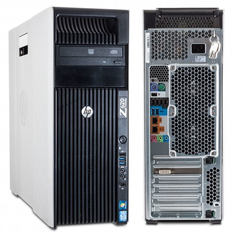 HP Z620 Workstation With Nvidia Quadro Graphics