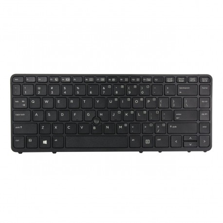 Replacement Keyboard for HP EliteBook 840 850 G1 G2 ZBook 14 with Pointer and Backlight