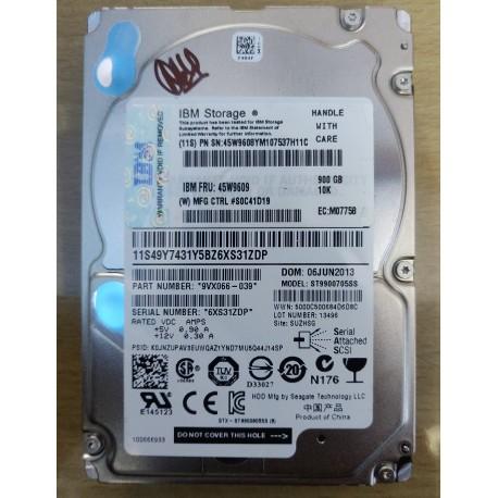 900GB 10K 2.5 Server Hard Disk 45W9609